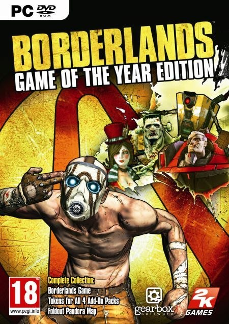 Borderlands Game of the Year Edition Steam KOD