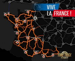 EURO TRUCK SIMULATOR 2 Vive la France! STEAM kod