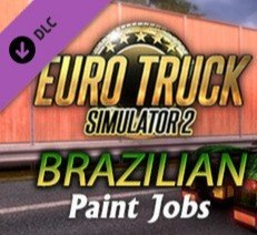 Euro Truck Simulator 2 Brazilian Paint Jobs Pack DLC Steam Kod Klucz