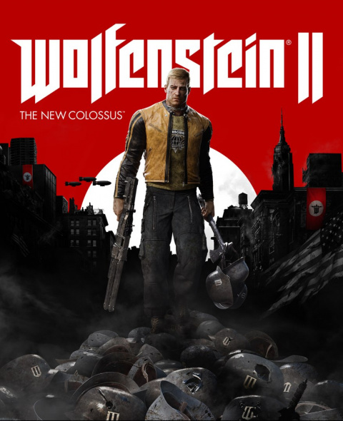 Wolfenstein II The New Colossus XBOX One KOD KLUCZ