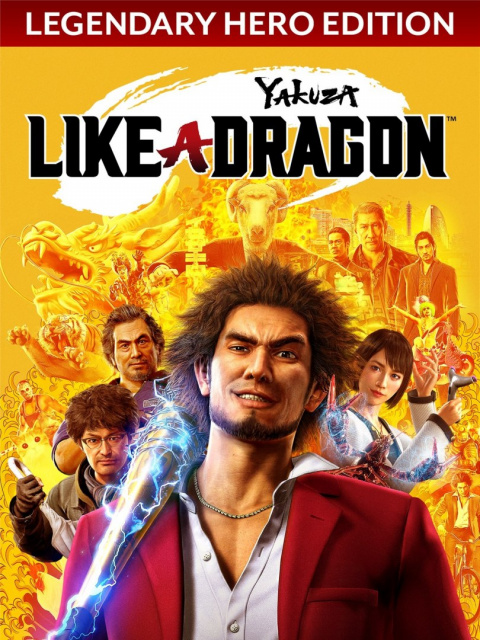 Yakuza Like a Dragon Legendary Hero Edition Steam KOD KLUCZ