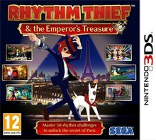 Rhythm Thief & the Emperor's Treasure Nintendo 3DS KOD KLUCZ
