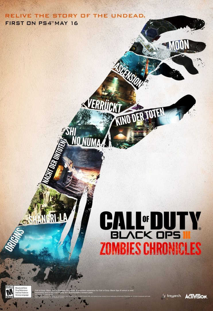 Call of Duty Black Ops III Zombies Chronicles Edition XBOX One KOD KLUCZ