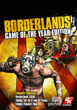 Borderlands Game of the Year Edition XBOX One KOD KLUCZ